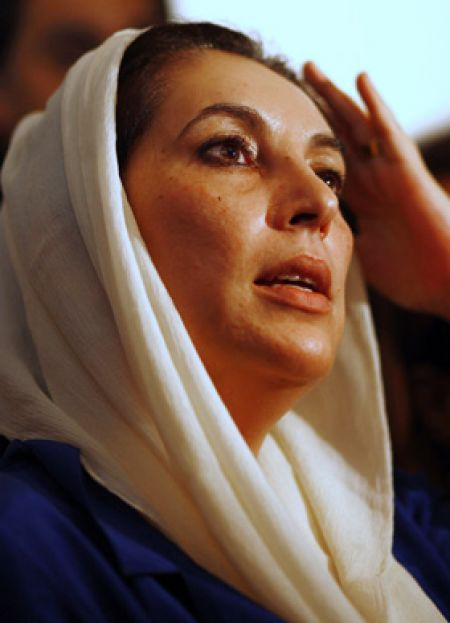 L'assassinat de  Benazir Bhutto