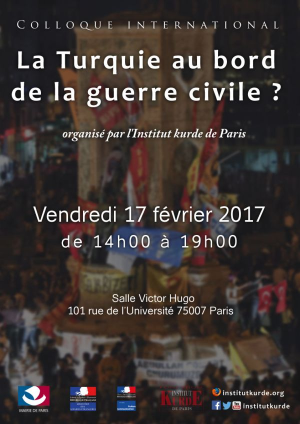 COLLOQUE INTERNATIONAL « La Turquie au bord de la guerre civile ? »