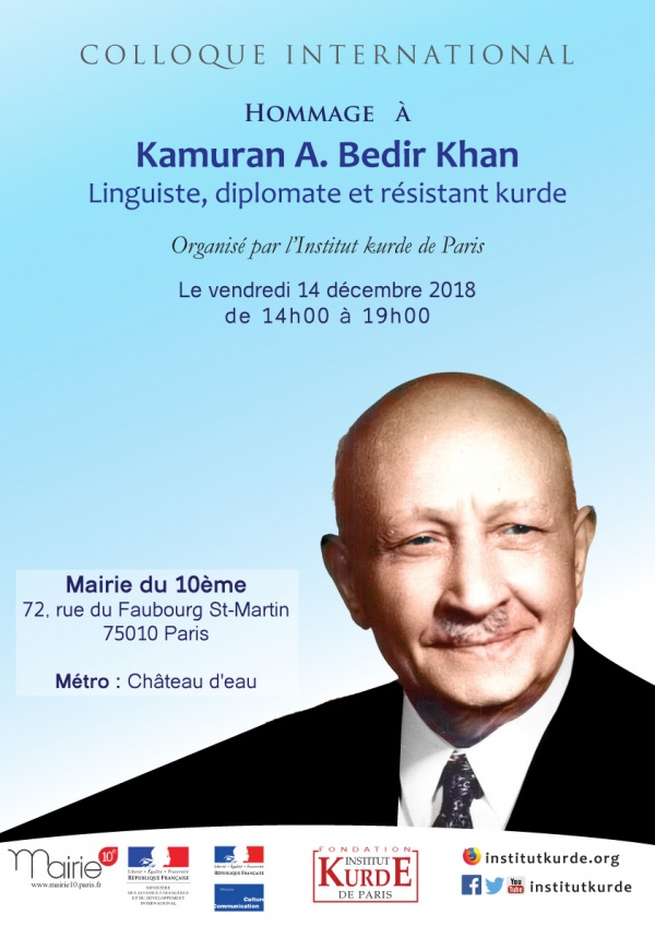 COLLOQUE INTERNATIONAL: <br> Hommage à Kamuran A. BEDIR KHAN