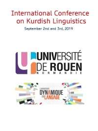 Conférence internationale sur la linguistique kurde