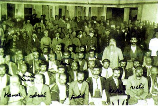 Procès de Seyid Riza et ses amis, en 1937, à Elazig