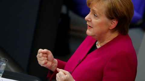 Syrie : Merkel juge la situation à Afrine «inacceptable»