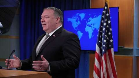Pompeo slams Russia, China for blocking humanitarian aid to northern Syria